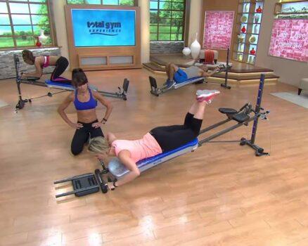 total gym vs bayou fitness